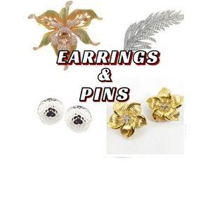 EARRINGS & PINS